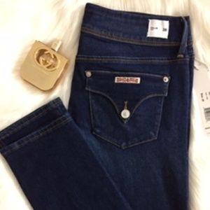 NWT 🎀 HUDSON Women's Jeans Collin Skinny Blue